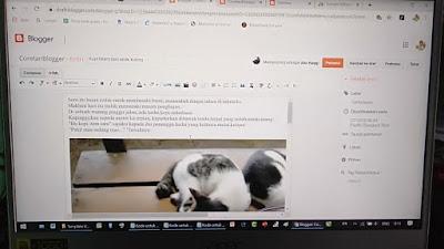 Belajar ngeblog