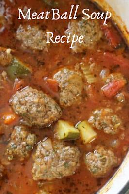 Keto Meatball Soup Recipe