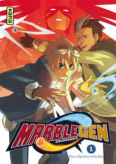 Marblegen Origines tome 1 aux éditions Kana