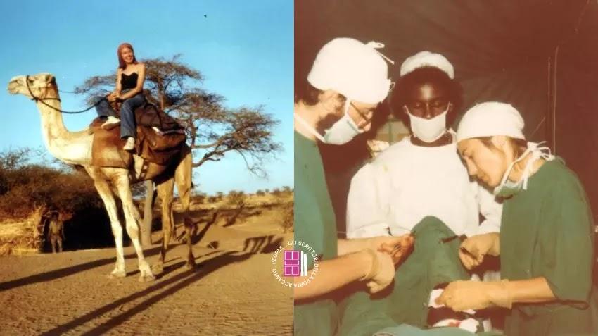 Antonia Ferrari in Eritrea, nell'ospedale da campo donato dalla Croce Rossa