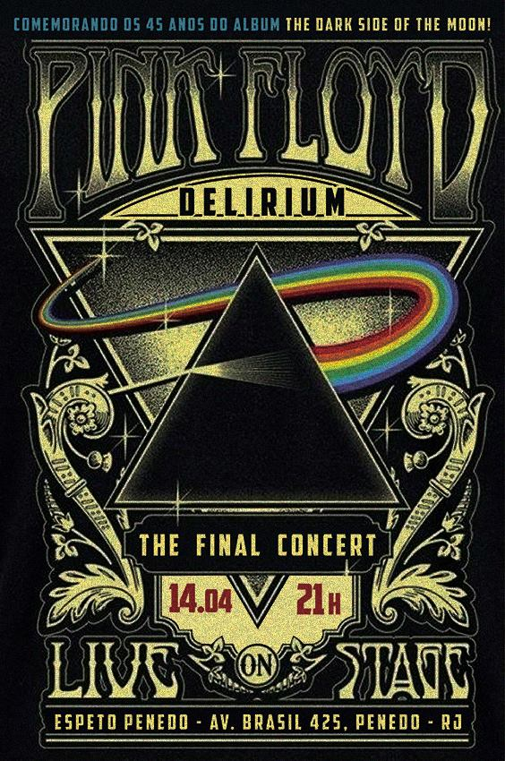 Pink Floyd Delirium  se apresenta nesse sábado no Espeto Penedo