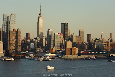Manhattan skyline from Weehawken, New Jersey