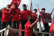 Kader PDIP Ancam Bertindak Sendiri Kepada Pelaku Pembakaran Bendera