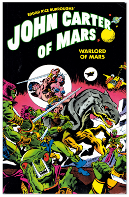 Comic John Carter of Mars - Warwols of Mars Edgar Rice Burroughs