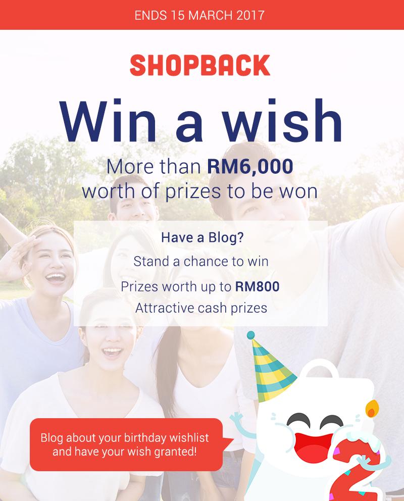 Birthday Wishlist dari ShopBack