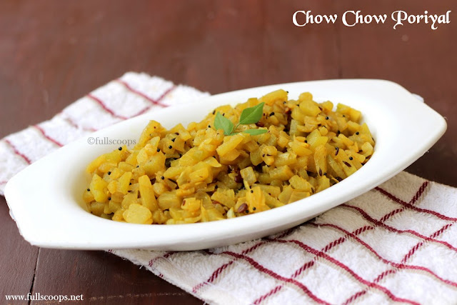 Chow chow Poriyal