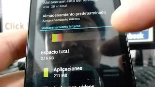la memoria interna tiene que ver con la lentitud de tu telefono
