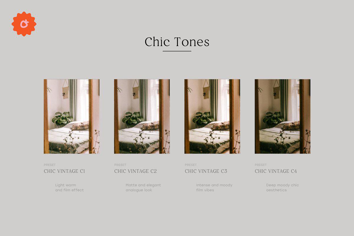 4 Chic Lightroom Presets 5186923 i