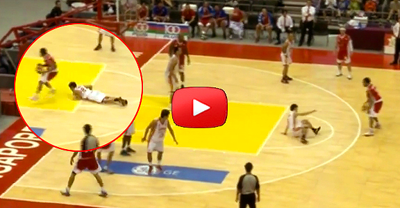 #ThrowbackThursday | Stanley Pringle INSANE Double Ankle Breaker Move (VIDEO)