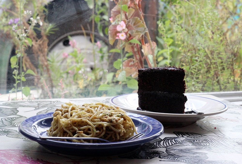 Pancit Palapa and Tablia Cake