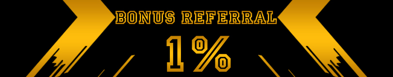 Bonus Referral 1%