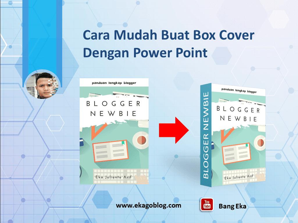 Cara Mudah Buat Box Cover 3D Dengan Power Point