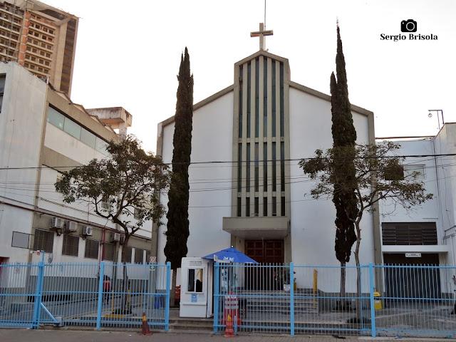 Vista ampla da Capela da Santa Casa de Misericórdia de Santo Amaro - São Paulo