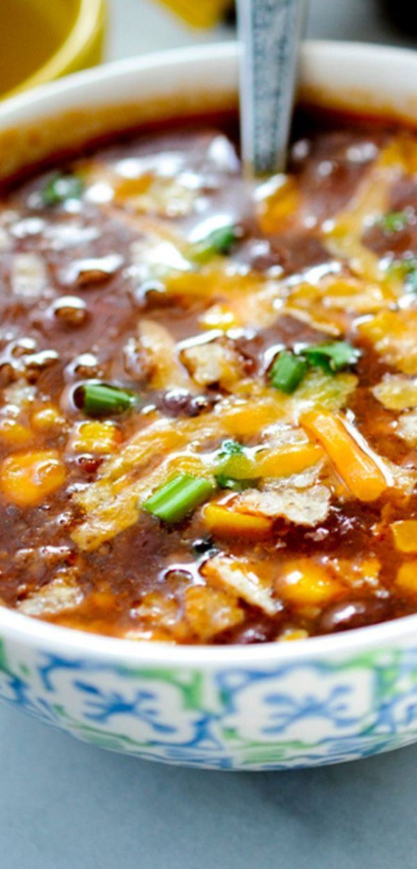 WEIGH WATCHERS SLOW COOKER TACO SOUP