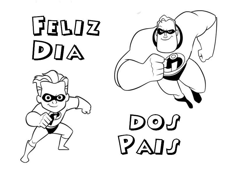 Baú Da Web: Desenhos Dia Dos Pais Para Imprimir