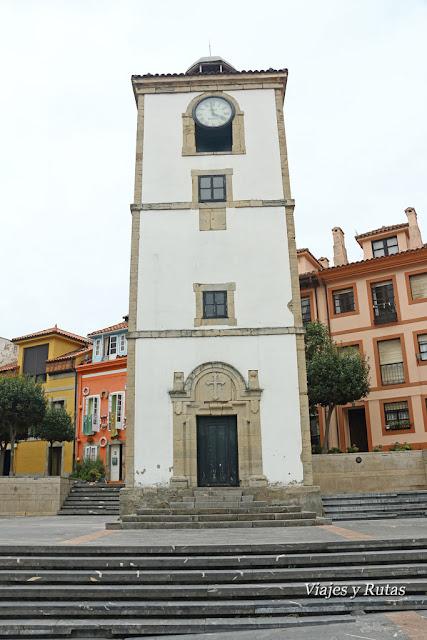 Torre del reloj, Luanco