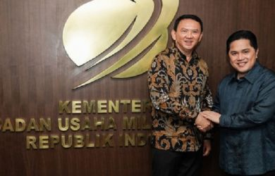Erick Thohir Diminta Ikuti Saran Ahok, Ganti Kementerian BUMN dengan Superholding, tapi…