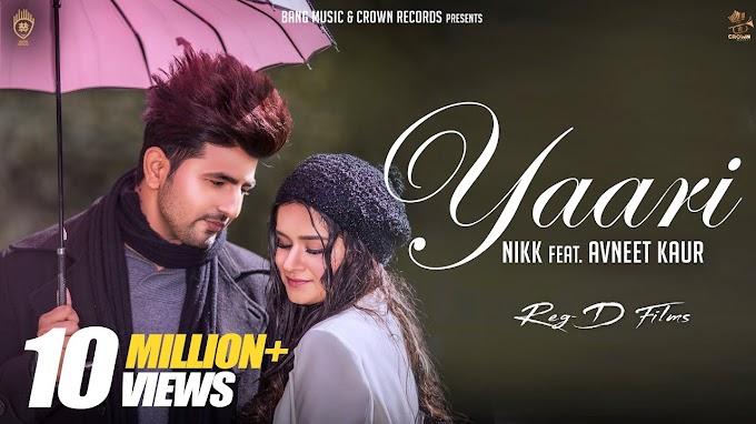Yaari nikk  avneet kaur New Punjabi Songs 2019,1080p | 720p |480p | mp4 |  DOWNLOAD