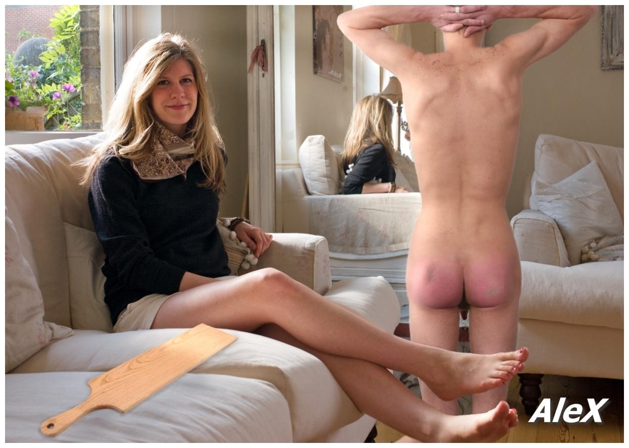 Alex Embarrassing Cfnm Spanking Art - Mega Porn Pics-6627