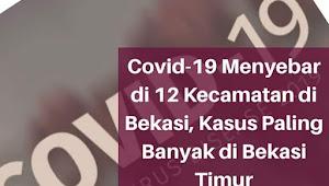 Bekasi Kota paling banyak kasus Covid-19, di 12 Kecamatan berikut titiknya