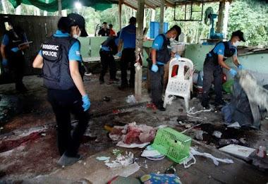 Pos Keamanan Diserang, Camat, Mantan Kepala Desa dan 13 Lainnya Tewas