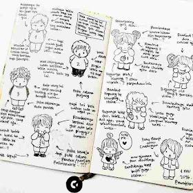 cara membuat art journal