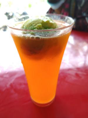 Ice Cream Shake Chilled Orange Juice