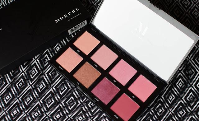 Morphe Blush palette 8C Cool, La palette de blush parfaite ?