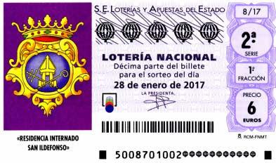 lotería nacional sábado 28 de enero de 2017