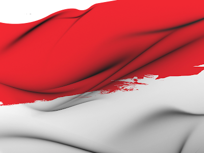 Image result for bendera indonesia berkibar png