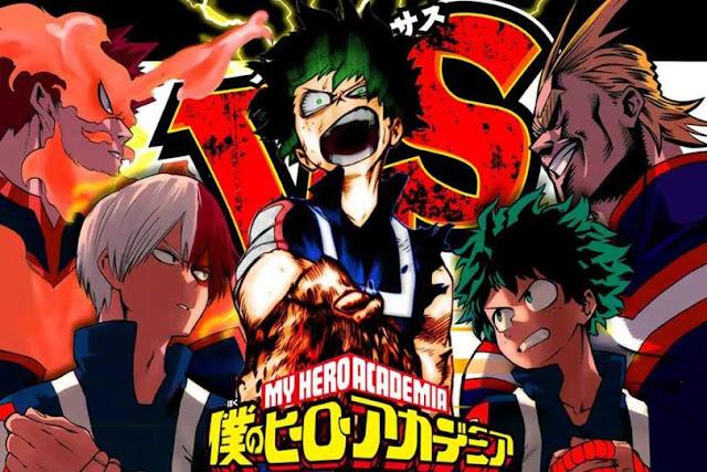 Manga Boku no Hero Academia pausada