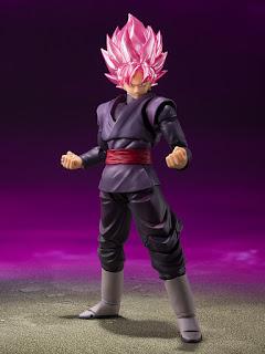 Nuevos S.H.Figuarts: Dragon Ball Z - Goku Eating Scenes Set y Dragon Ball Super - Goku Black, Tamashii Nations