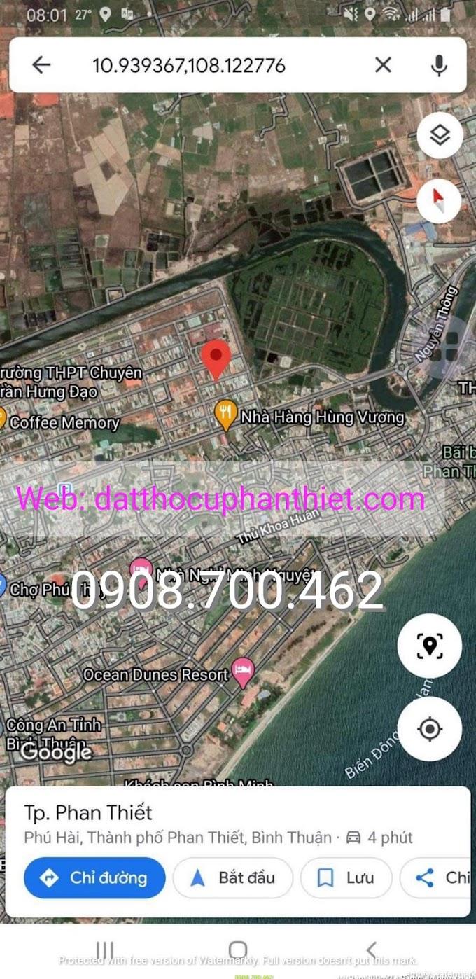 Bán 105m2 đất thổ cư KDC Hùng Vương - Phan Thiết