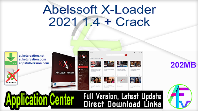 Abelssoft X-Loader 2021 1.4 + Crack