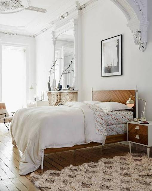 white bedrooms