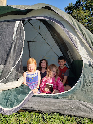 How to Create Your Own Family Adventure - Backyard Camping Tent