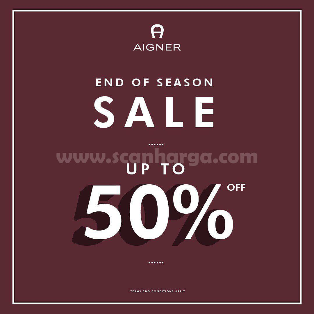 AIGNER End Of Season Sale: Discount Up To 50% Off