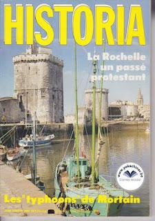Revue Historia, 486 1987, la rochelle un passé protestant