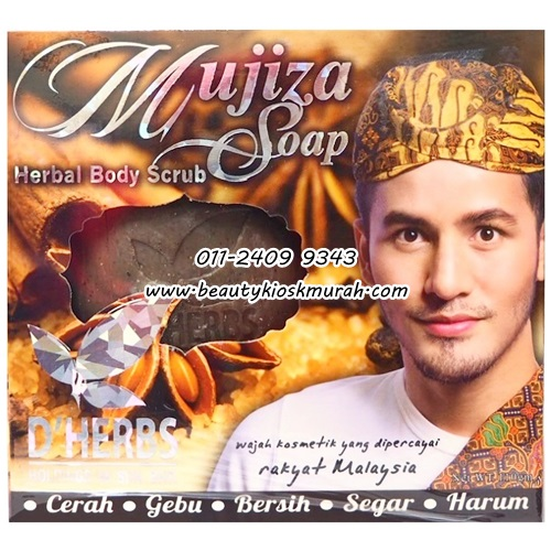 Mujiza SOap Herbal Bidy Scrub D'Herbs