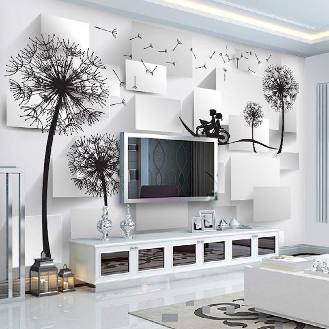 Giá Giấy dán tường Tại hải phòng theo m2, Chi phí 1m2 tranh dán tường 3D, 5D hoàn thiện trọn gói
