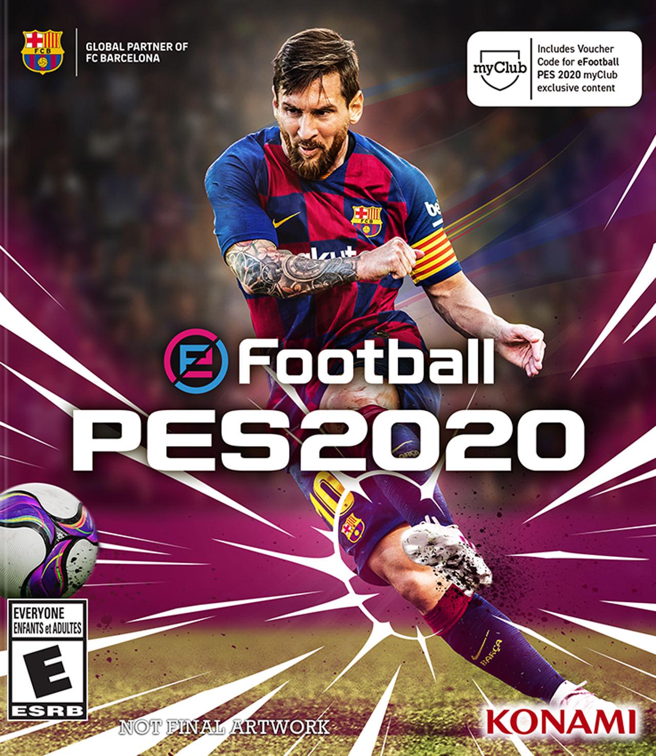 مراجعة لعبة EFootball PES 2020