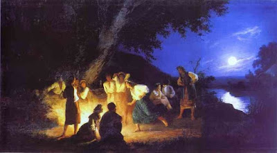Night on the Eve of Ivan Kupala, public domain painting by Henryk Siemiradzki