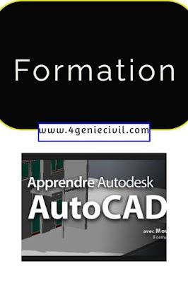 Formation et cours autocad pdf
