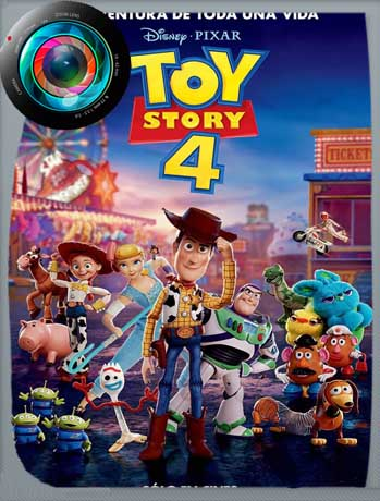 Toy Story 4 (2019) HDRip [1080p] Latino Line [GoogleDrive]