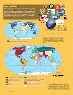 Apoyo Primaria Atlas de Geografía del Mundo 5to. Grado Capítulo 4 Lección 3 Bloques Económicos