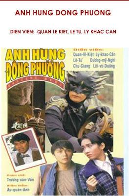 Poster phim: Anh Hùng Đông Phương (USLT) - Long Ảnh Hiệp 1992