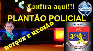 Confira aqui todas as ocorrências registras pela policia militar  nesta quarta-feira, 12 de Maio em Buíque e região