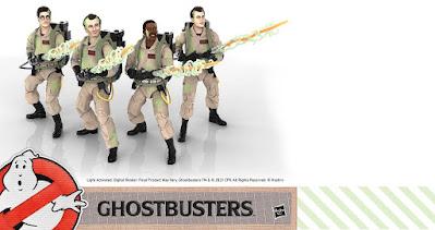 Ghostbusters Plasma Series Glow in the Dark Action Figures by Hasbro