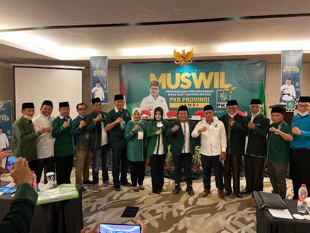 Abdullah Sani Jabat Ketua Dewan Syuro DPW PKB Jambi