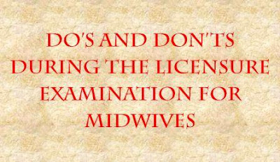 licensure examination for midwives